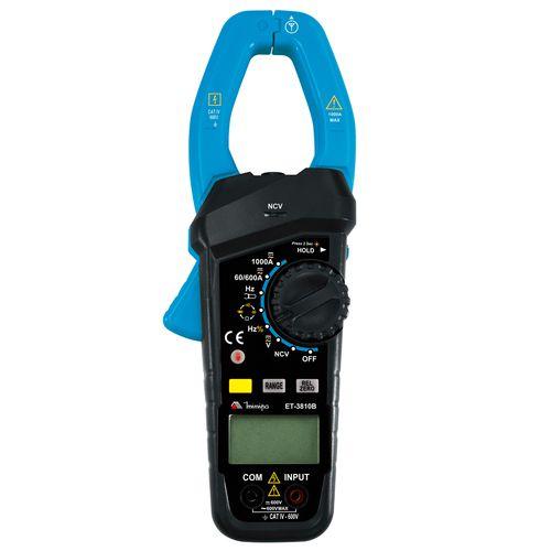 Alicate Amperímetro Minipa ET-3810B  - MRE Ferramentas