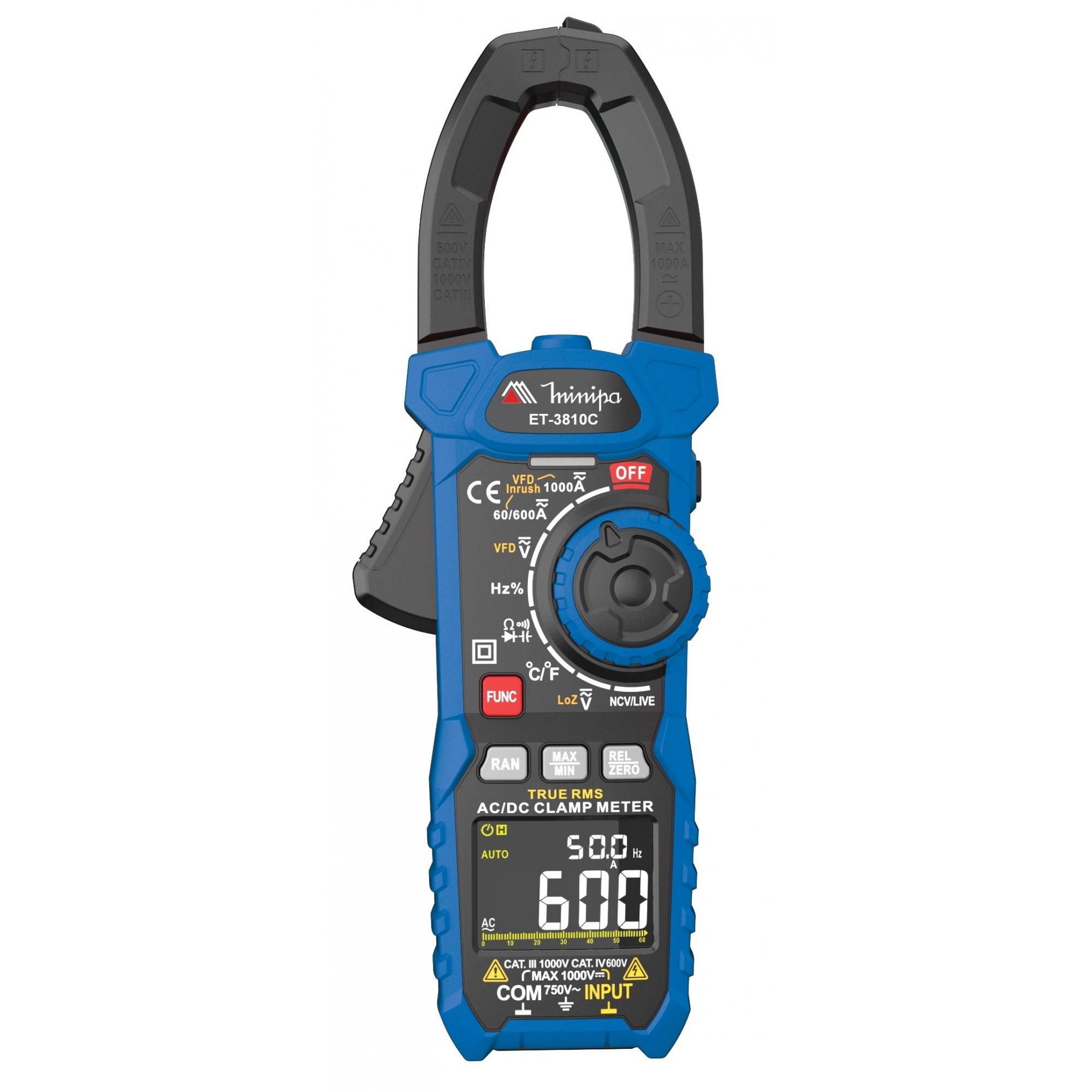 Alicate Amperímetro Minipa ET-3810C  - MRE Ferramentas