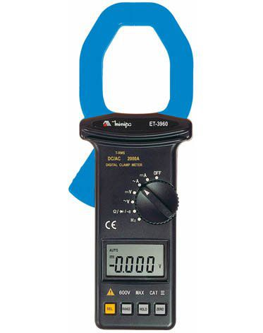Alicate Amperímetro Minipa ET-3960  - MRE Ferramentas