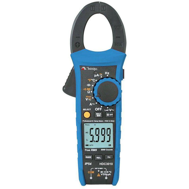 Alicate Amperímetro Minipa HDC-3010  - MRE Ferramentas