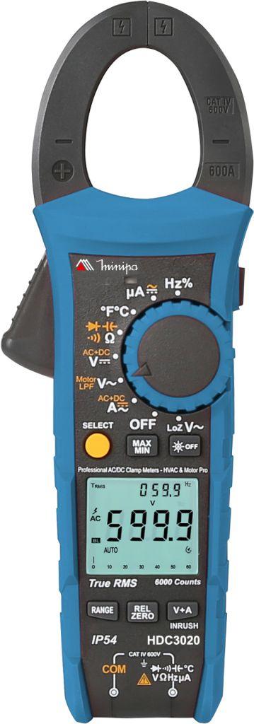 Alicate Amperímetro Minipa HDC-3020  - MRE Ferramentas