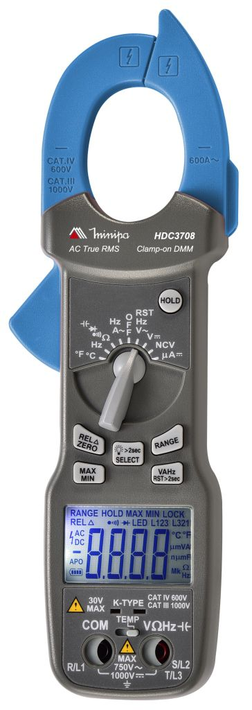 Alicate Amperímetro Minipa HDC-3708  - MRE Ferramentas