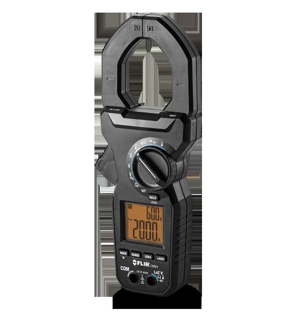 Alicate Amperímetro para Serviços 2.000 A CA/CC Flir CM94  - MRE Ferramentas