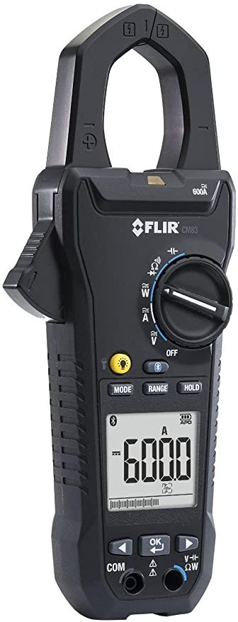 Alicate Amperímetro Sem Fio Digital Flir CM83 (Refurbished)  - MRE Ferramentas