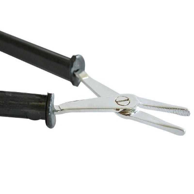 Alicate Pinça 3° Mão - Bico Reto  - MRE Ferramentas