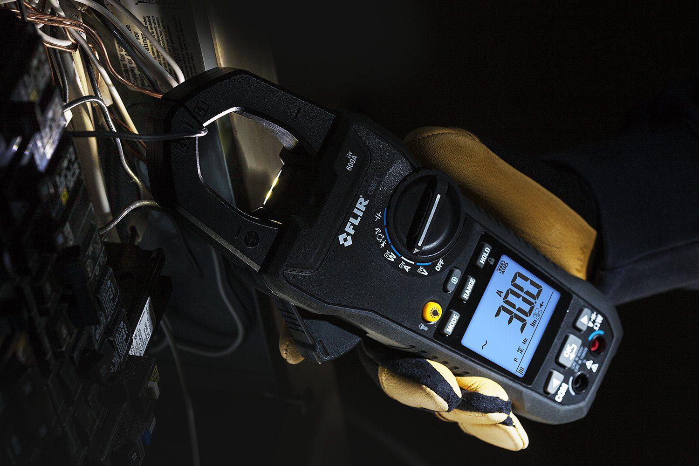 Alicate Wattímetro Digital Flir CM-83  - MRE Ferramentas