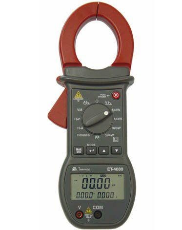 Alicate Wattímetro Digital Minipa ET-4080  - MRE Ferramentas