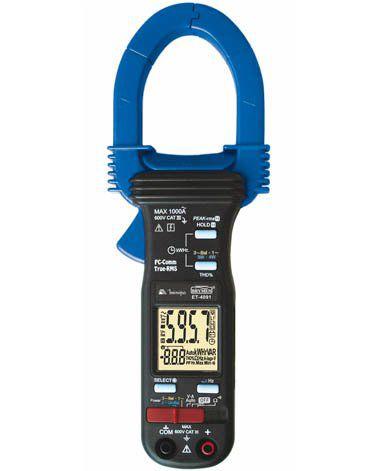 Alicate Wattímetro Digital Minipa ET-4091  - MRE Ferramentas