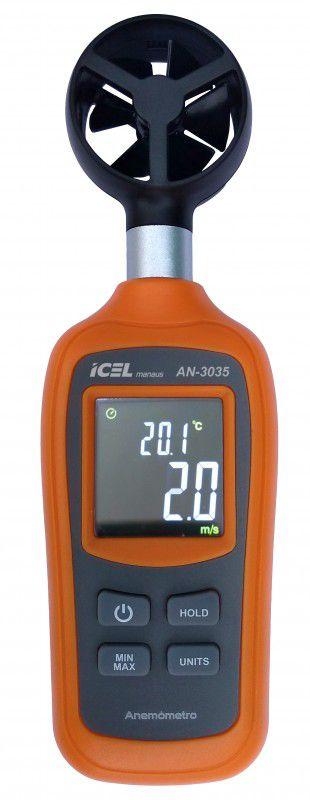 Anemômetro Digital Icel AN-3035  - MRE Ferramentas