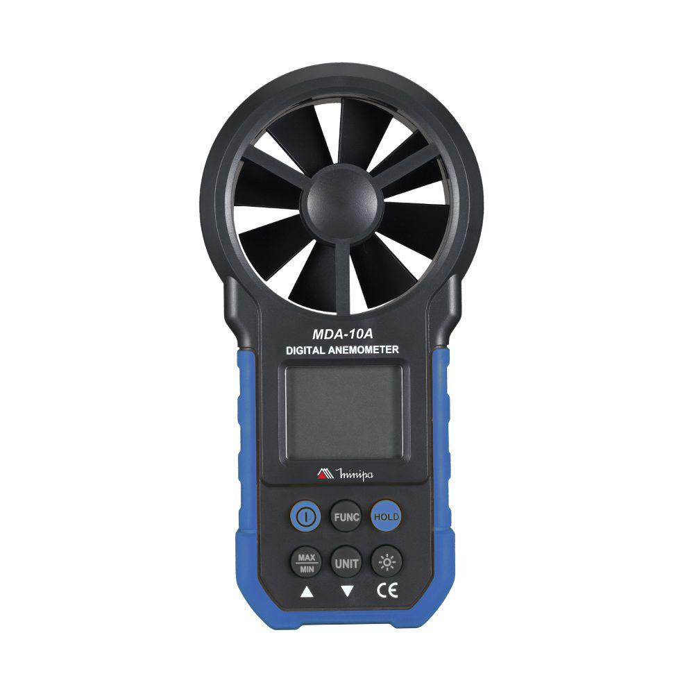 Anemômetro Digital Minipa MDA-10A  - MRE Ferramentas