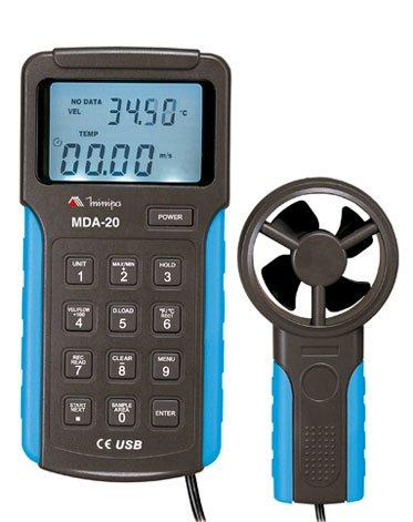 Anemômetro Digital Minipa MDA-20  - MRE Ferramentas