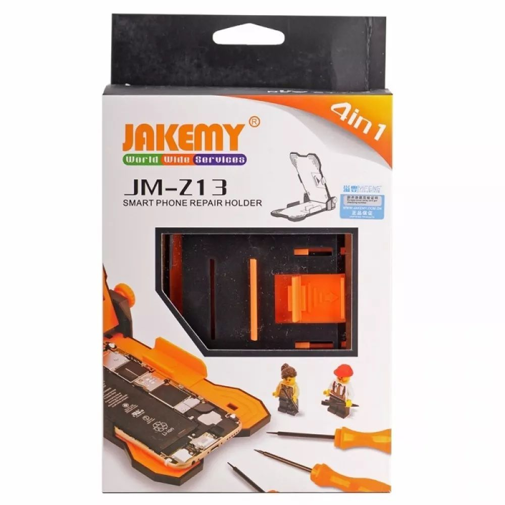 Base Suporte de Fixação para Trabalho em Celular Jakemy JM-Z13  - MRE Ferramentas