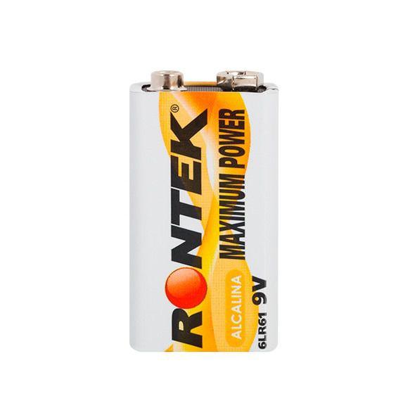 Bateria Alcalina 9V Rontek  - MRE Ferramentas