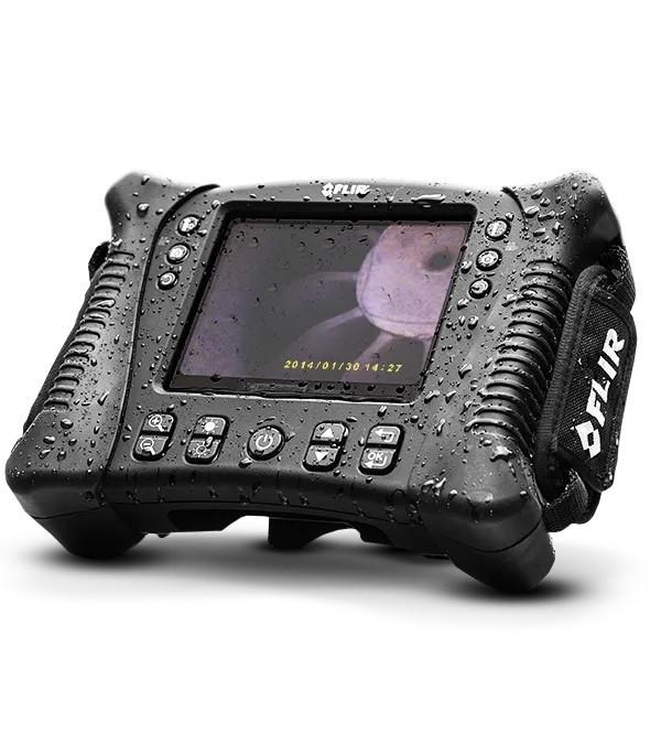 "Boroscópio à Prova D´Água Display 5.7"" com Sonda Wireless VSA2-1-W Flir VS70  - MRE Ferramentas"