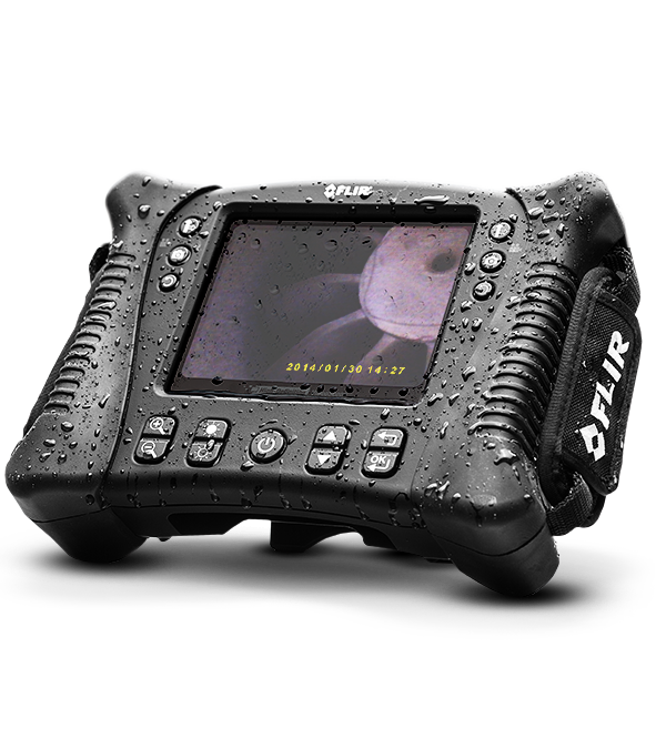 "Boroscópio à Prova D´Água Display 5.7"" Flir VS70 (Sem Sonda)  - MRE Ferramentas"