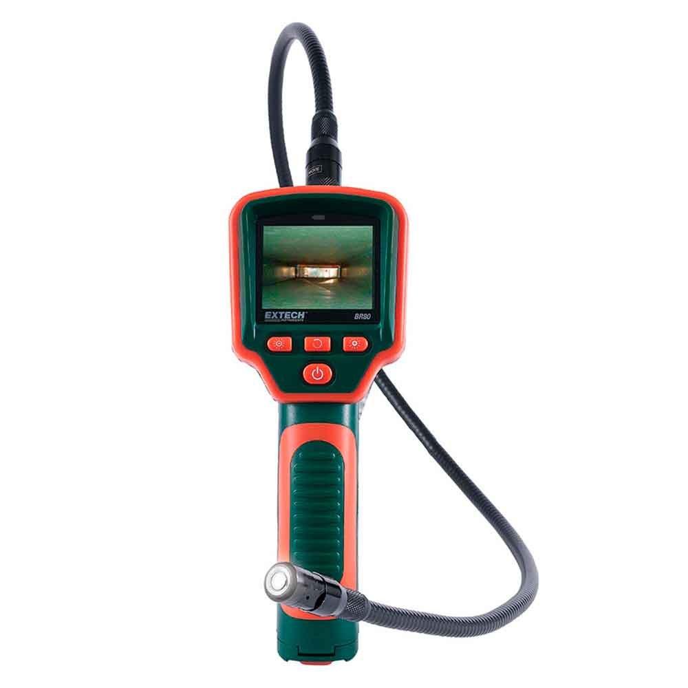 Boroscópio com Câmera de Inspeção de 17mm de Diâmetro Extech BR80 (Refurbished)  - MRE Ferramentas