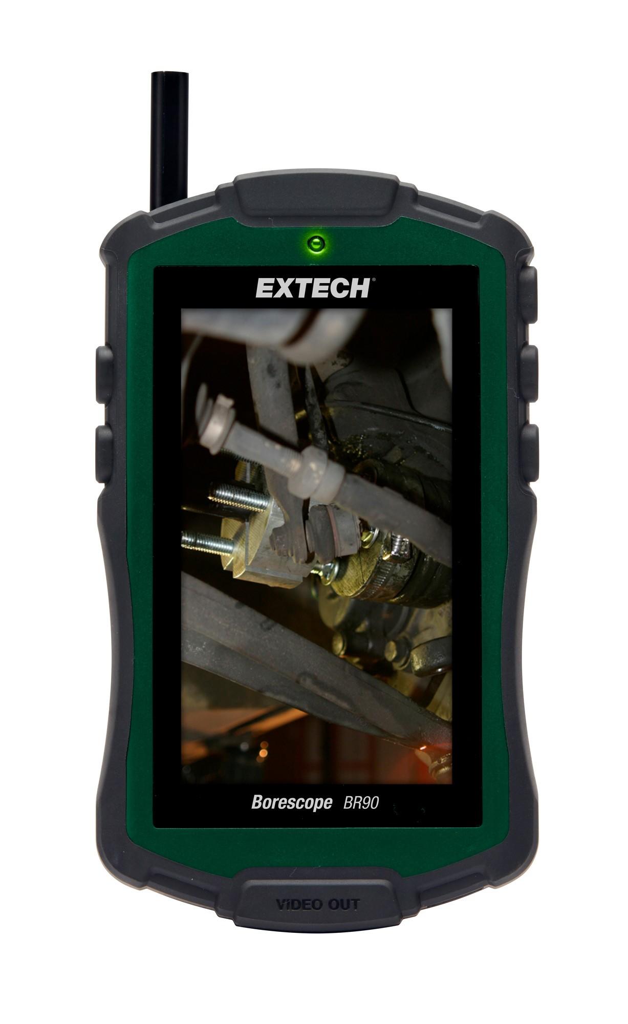 Boroscópio com Câmera de Inspeção de 8mm Extech BR90  - MRE Ferramentas