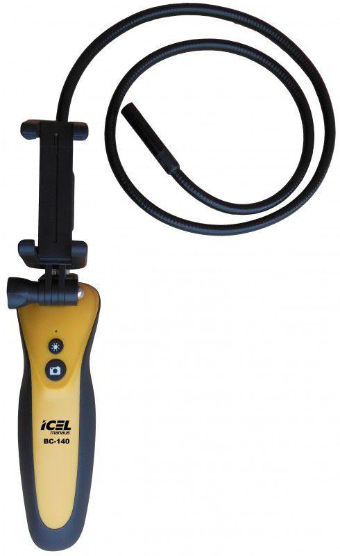 Boroscópio com Conexão Wifi para Celular Icel BC-140  - MRE Ferramentas