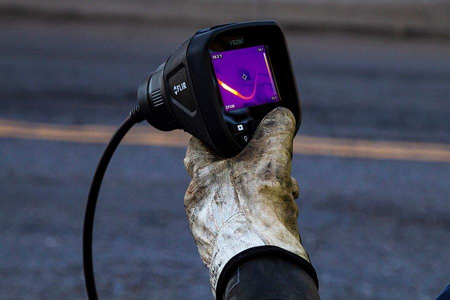 Boroscópio com Imagem Térmica e Tecnologia MSX® Sonda Retangular Flir VS290-32  - MRE Ferramentas