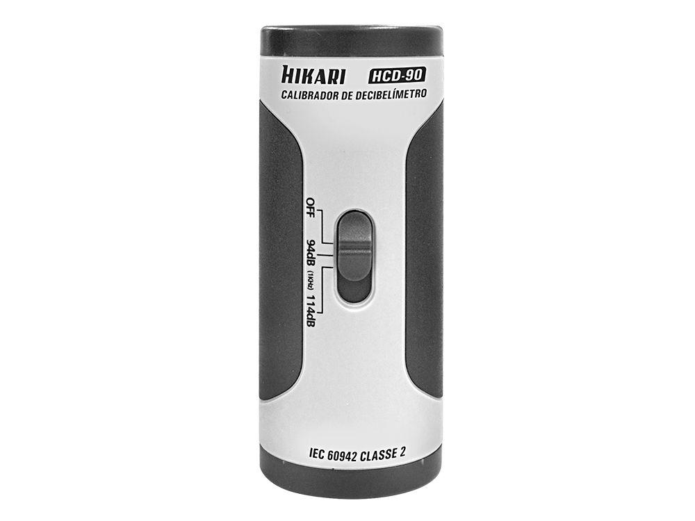 Calibrador de Decibelímetro e Dosímetro Hikari HCD-90  - MRE Ferramentas