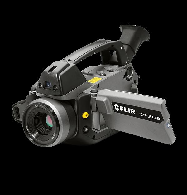 Câmera de Imagens Ópticas de Gás Flir GF343  - MRE Ferramentas