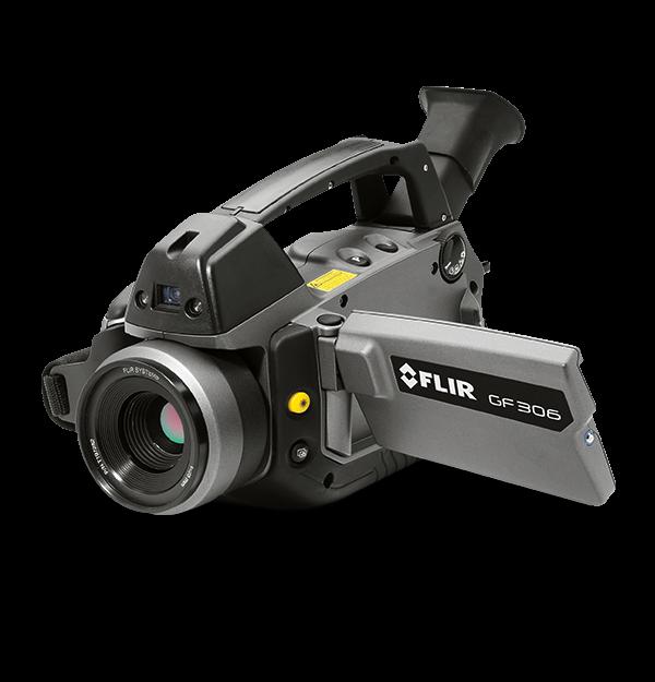 Câmera de Imagens Ópticas de Gás SF6 Flir GF306  - MRE Ferramentas