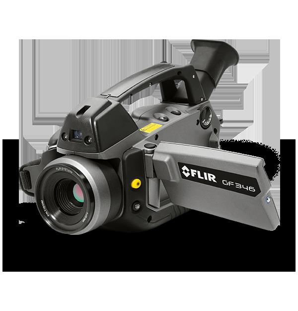 Câmera de Infravermelho para Detecção de CO e Inspeções de Componentes Elétricos Flir GF346  - MRE Ferramentas
