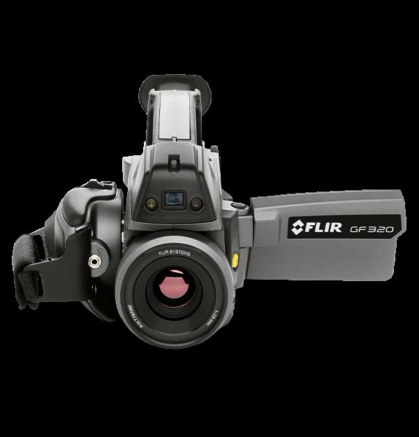 Câmera de Infravermelho para Detecção de Metano e VOC Flir GF320  - MRE Ferramentas