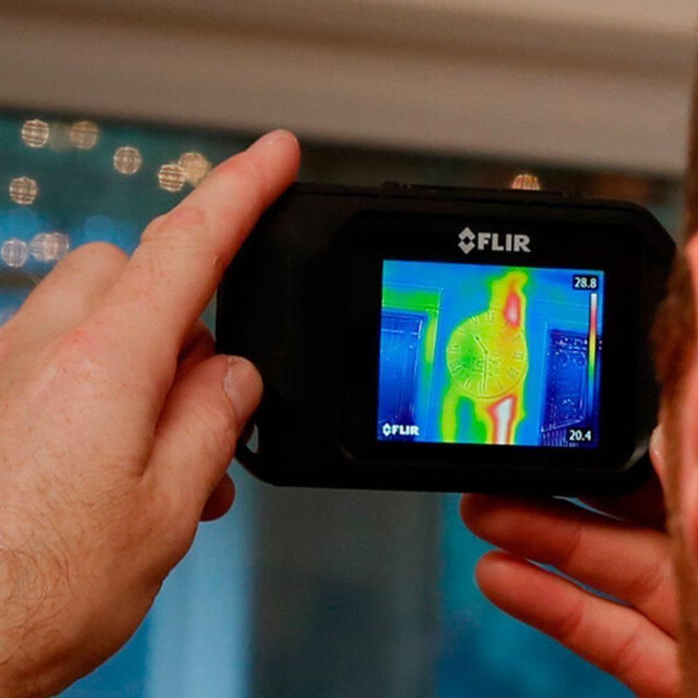 Câmera Térmica de Bolso 4.800 Pixels C/MSX (-10º A +150ºC) Flir C2  - MRE Ferramentas