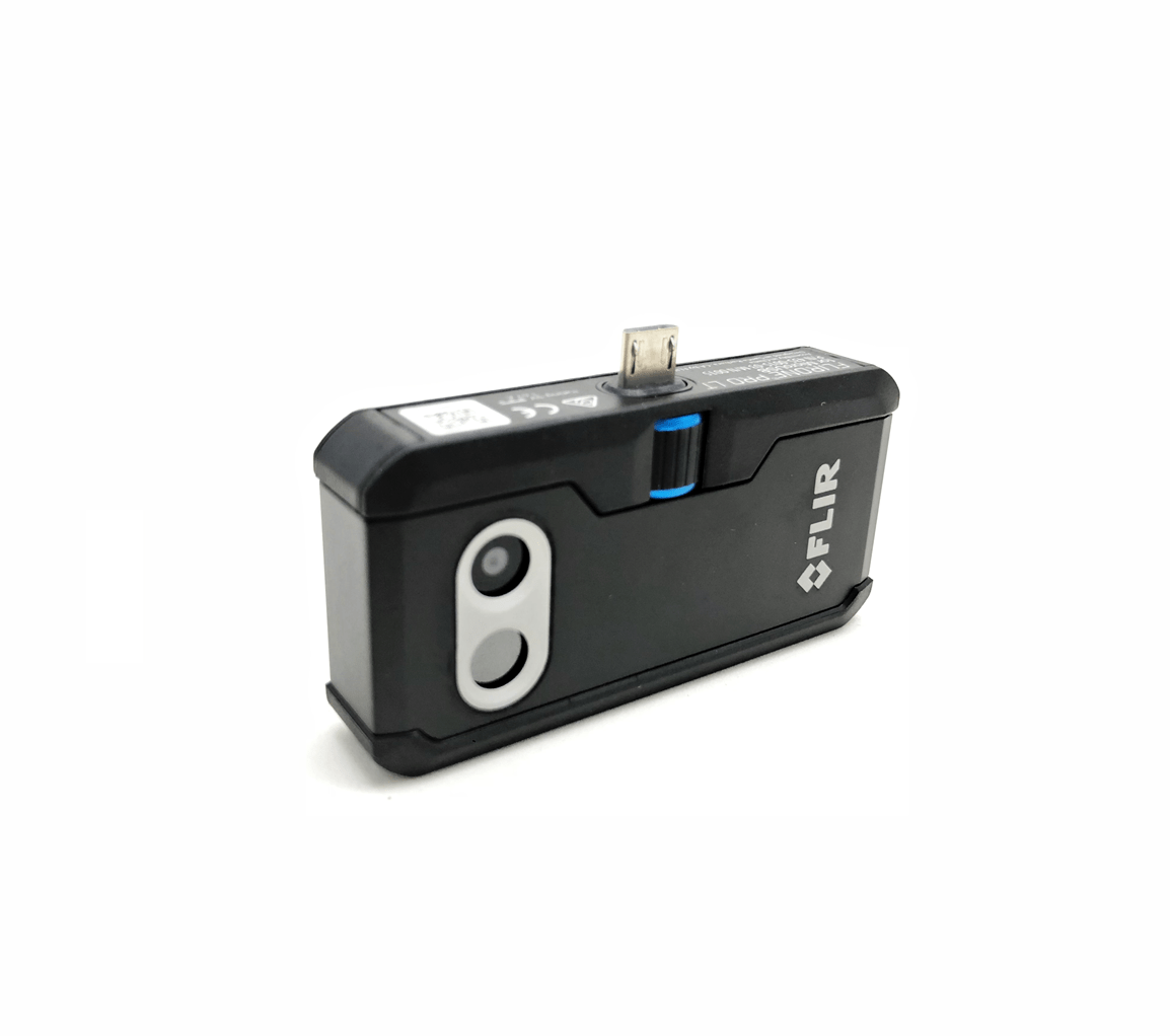 Câmera Termográfica para Celular Android 4.800 PIXELS (-20 °C A 120 °C) Flir One PRO LT MICRO USB  - MRE Ferramentas