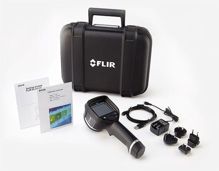 Câmera Térmica Termovisor 19.200 (160 × 120) pixels com MSX e WIFI Flir e5-XT  - MRE Ferramentas