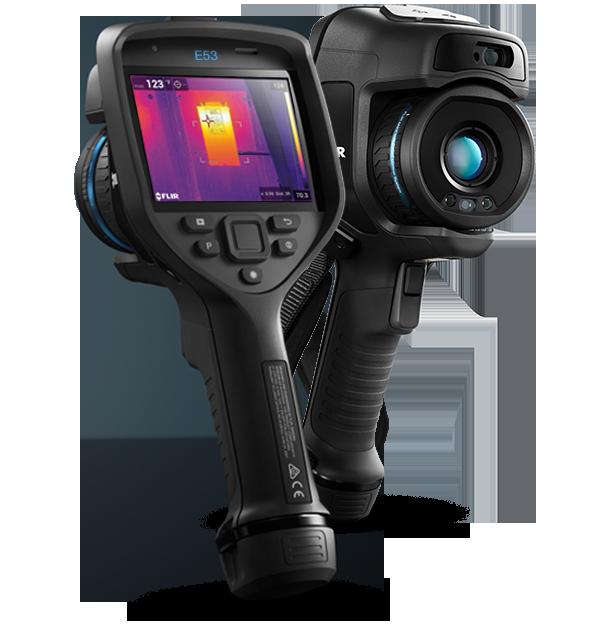 Câmera Térmica Termovisor 43.200 (240 x 180) pixels C/MSX E WIFI Flir e53  - MRE Ferramentas