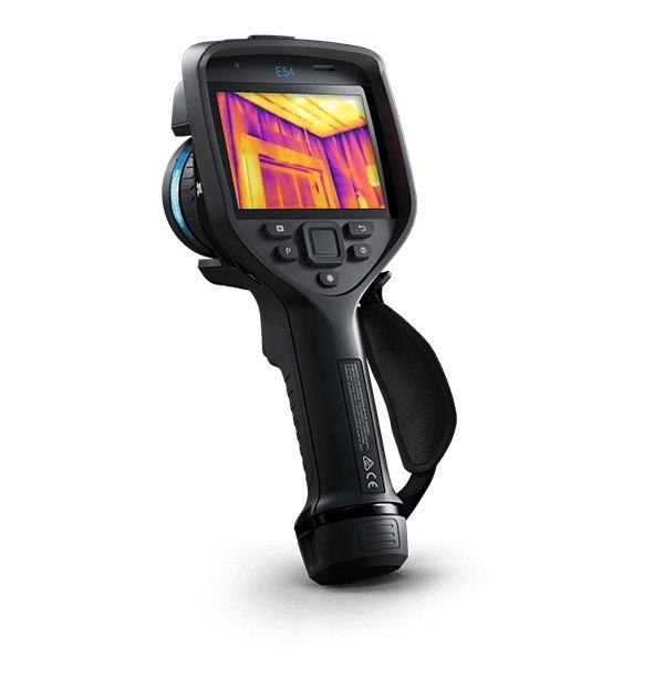 Câmera Termográfica Portátil 320 x 240 (76.800 pixels) 650 °C Flir e54  - MRE Ferramentas