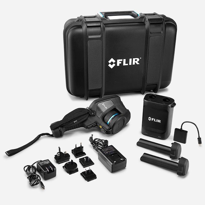 Câmera Termográfica Portátil 320 x 240 (76.800 pixels) c/MSX e Wi-fi Flir E75 24°  - MRE Ferramentas