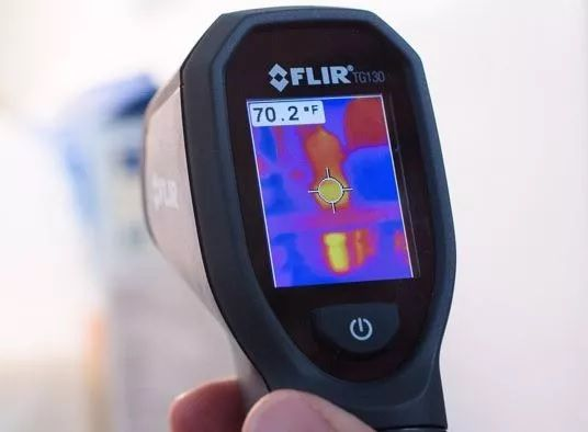 Câmera Térmica Termovisor Pontual 4.800 PIXELS (-10º A +150ºC) Flir TG130  - MRE Ferramentas
