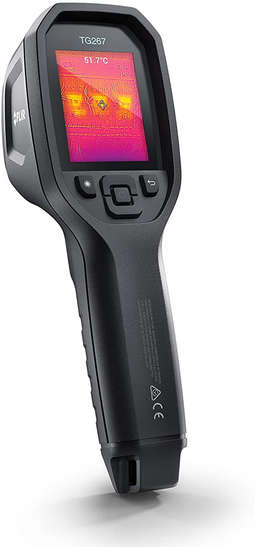 Câmera Termográfica 19.200 Pixels com MSX® (-25°C a 380ºC) Flir TG267 (Refurbished)  - MRE Ferramentas