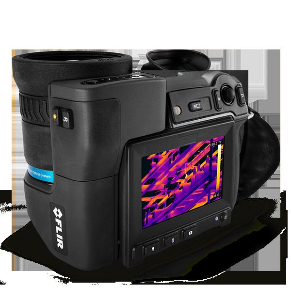 Câmera Termográfica de Alta Definição Flir T1010  - MRE Ferramentas