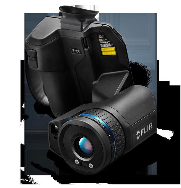 Câmera Termográfica de Alto Desempenho com Visor Flir T860  - MRE Ferramentas