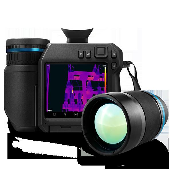 Câmera Termográfica de Alto Desempenho com Visor para Inspeções Externas Flir T840  - MRE Ferramentas