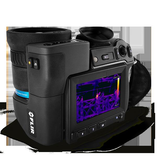 Câmera Termográfica HD com Viewfinder Flir T1020  - MRE Ferramentas