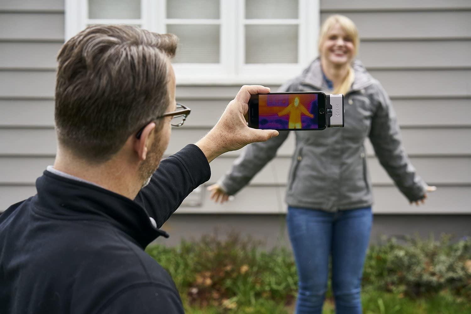 Câmera Termográfica para Celular 4.800 PIXELS (-20 °C A 120 °C) Flir One Gen 3 Android USB-C  - MRE Ferramentas