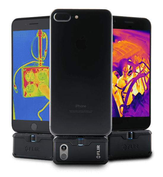 Câmera Termográfica para Celular Android 19.200 PIXELS (-20 A 400°C) Flir One PRO USB-C  - MRE Ferramentas