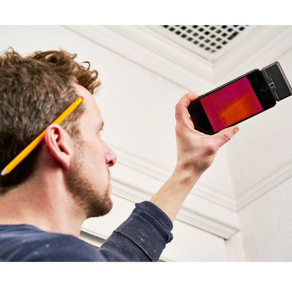 Câmera Termográfica para Celular 4.800 PIXELS (-20 °C A 120 °C) Flir One PRO LT MICRO USB  - MRE Ferramentas