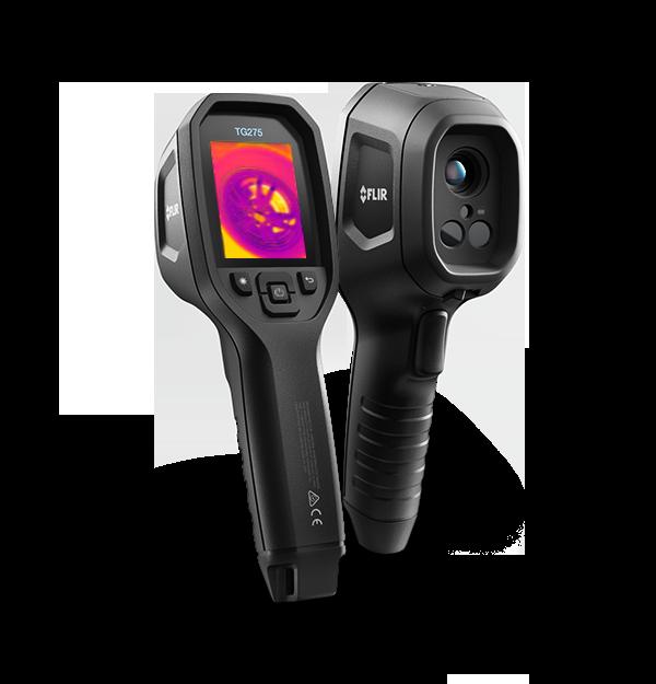 Câmera Termográfica Pontual p/Diagnóstico Automotivos c/MSX (-25°C a 550ºC) Flir TG275  - MRE Ferramentas
