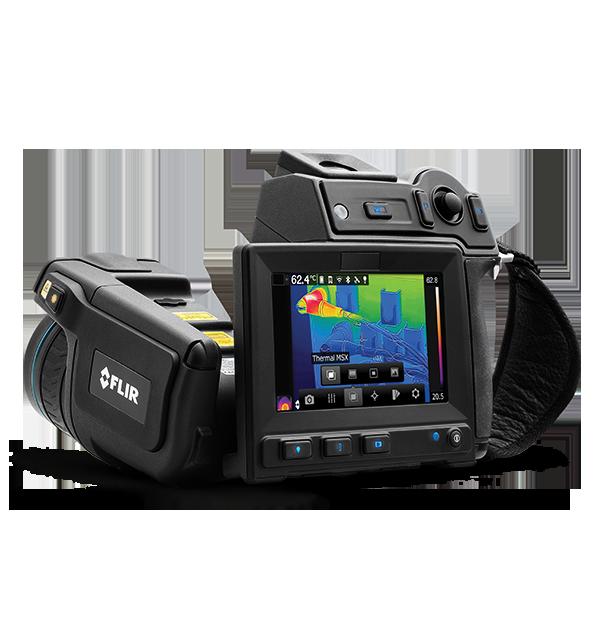 Câmera Termográfica para Manutenção Preditiva Flir T600  - MRE Ferramentas