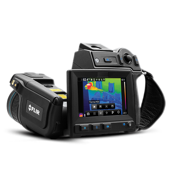 Câmera Termográfica para Manutenção Preditiva Flir T640  - MRE Ferramentas