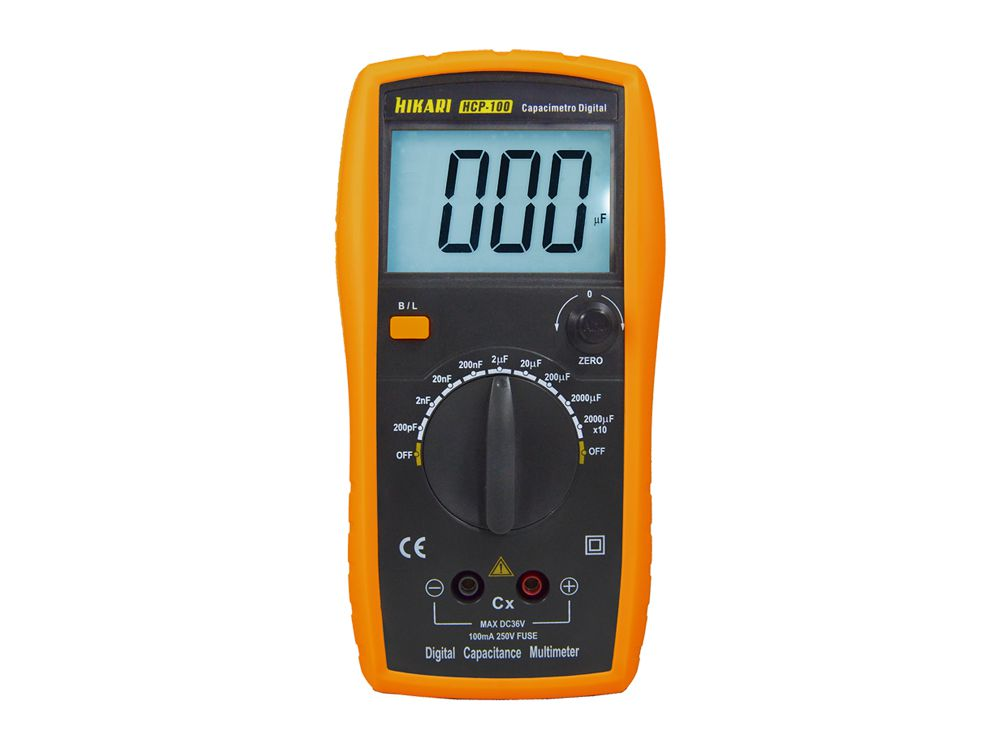 Capacímetro Digital Hikari HCP-100  - MRE Ferramentas