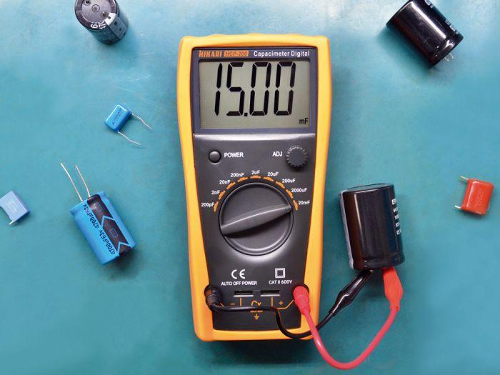 Capacímetro Digital Hikari HCP-200  - MRE Ferramentas