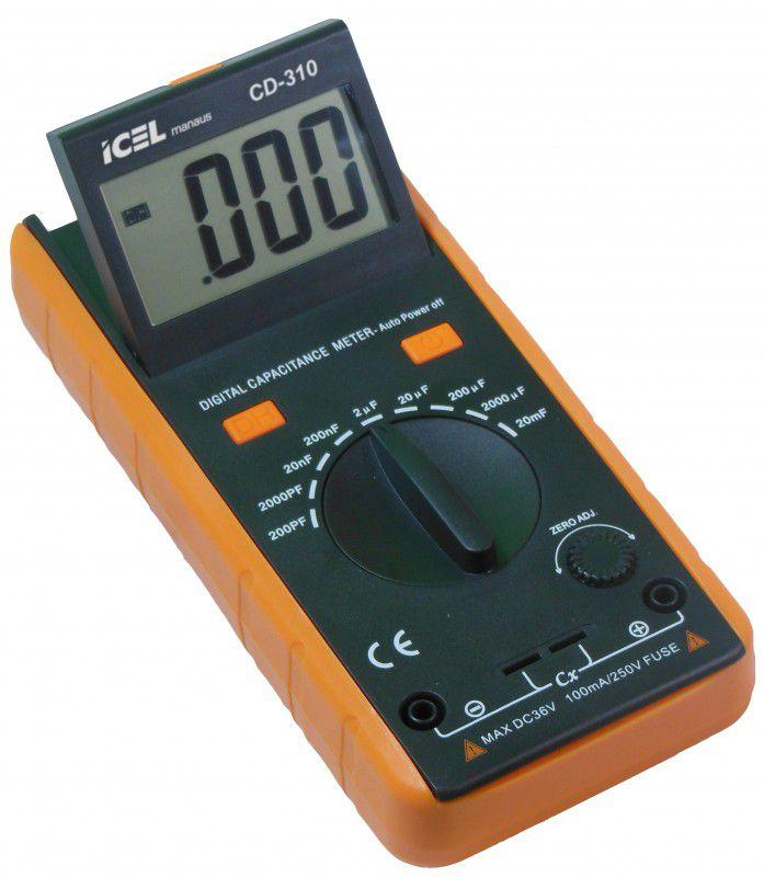 Capacímetro Digital Icel CD-310  - MRE Ferramentas