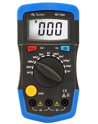 Capacímetro Digital Minipa MC-154A  - MRE Ferramentas